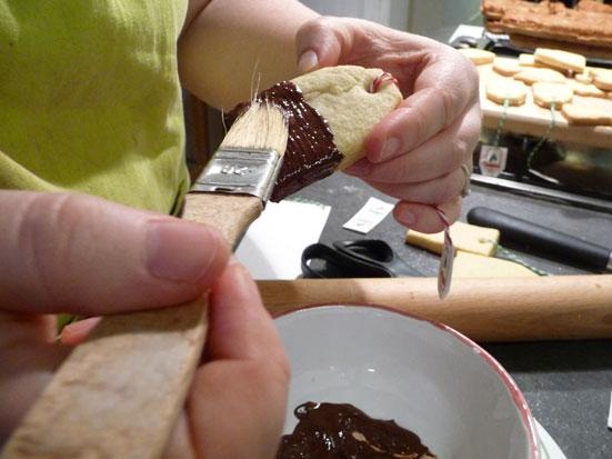 Comment faire des Biscuits shortbreads en forme de sachets de thé