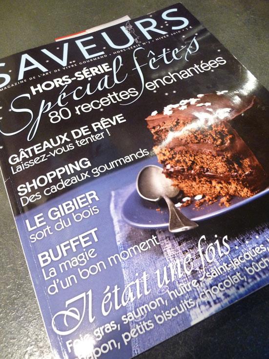 Magazine Saveurs hors-série n°7