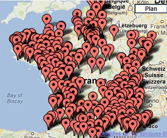 Biocoop map