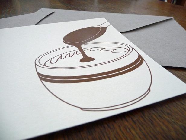 """Carte """"Chocolat chaud"""""""