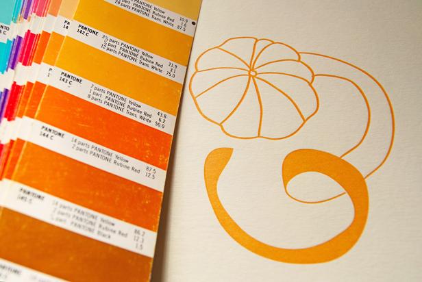 Les cartes Clémentine en cours d'impression (Photo Alice Rizio pour l'imprimerie Trace)