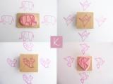 Kraftille - cartes letterpress et tampons graves a la main