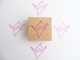 Grue origami par Kraftille