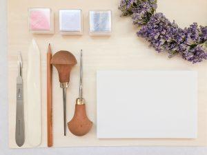 tampon personnalisé, tampon bois, tampon artisanal, boutique Etsy