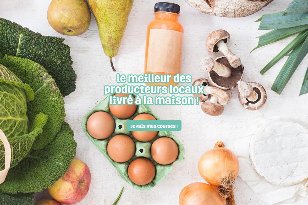 livraison, Paris, marché, frais, local, produits, fraîcheur, producteurs, locavore