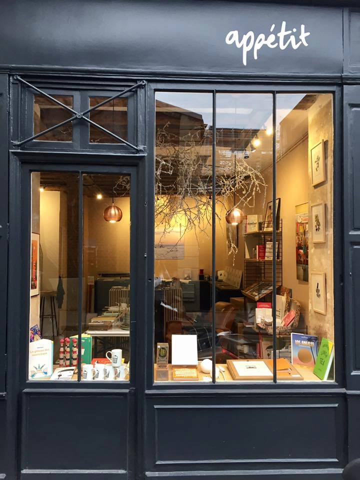Librairie Appétit, 12 rue Jean Ferrandi, Paris