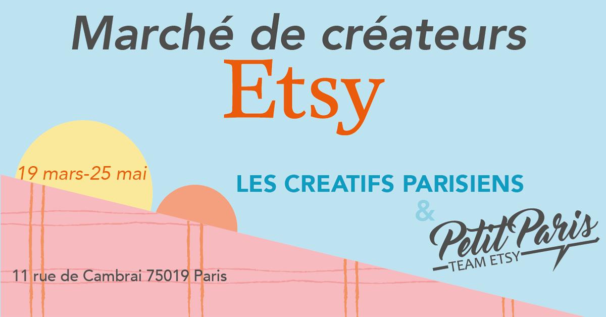boutique éphémère Paris, popup shop, artisanat, Etsy