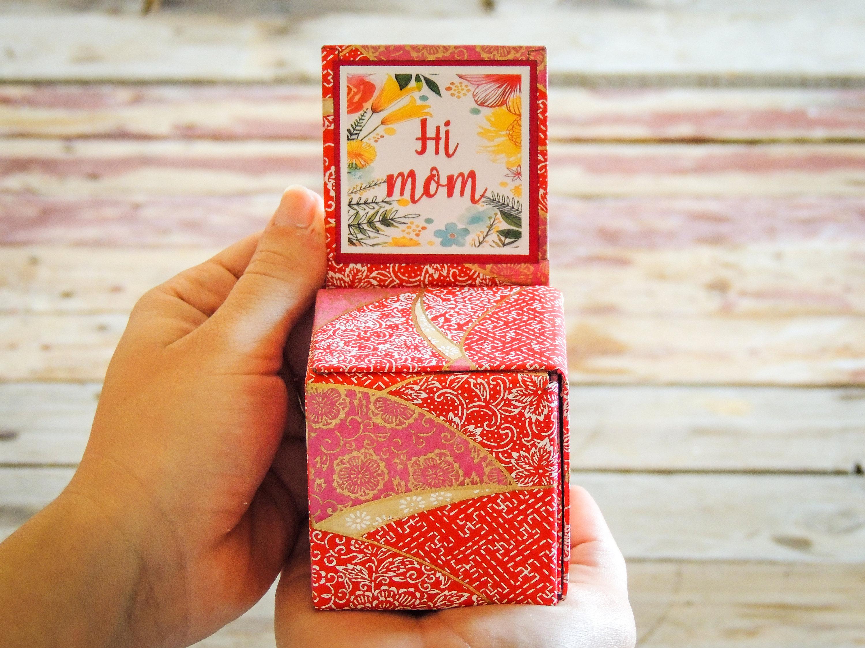 Ces petites boites ont été imaginées pour ajouter de la surprise et de l'émotion à tous vos cadeaux.